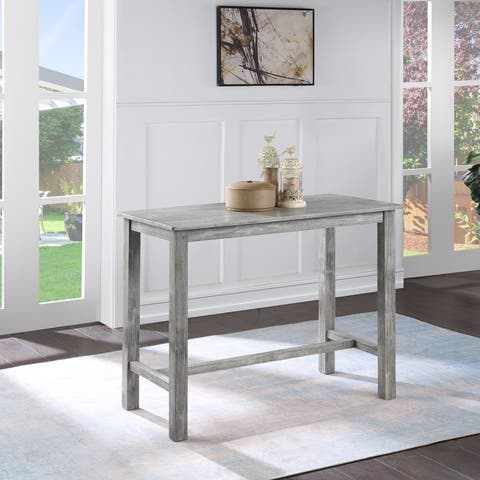 The Gray Barn Kaess Pub Height Dining Table