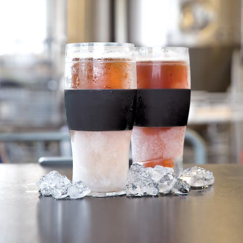 Beer FREEZE Cooling Cup in Black Set by HOST