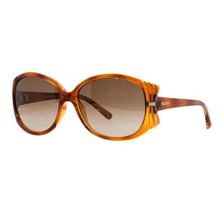 Valentino V 615 SR 214 Havana Classic Oval Sunglasses
