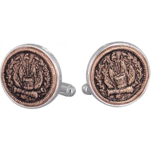 Civil War Token Cufflinks Coin Collector Memorbilla