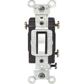 Leviton Wht 3-Way Ltd Switch