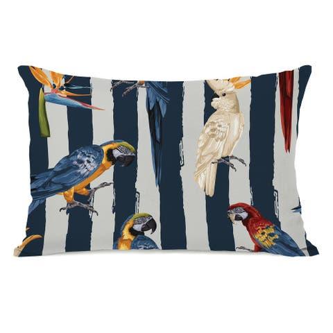 Parrots - Lumbar Pillow