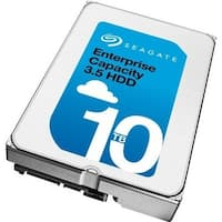 Seagate Enterprise Capacity St10000nm0086 10Tb Helium 3.5'' Internal Hard Drive With Sata 6Gb/S 7200 Rpm 256Mb Cache