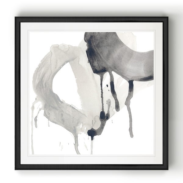 Swath IV -Black Framed Print. Opens flyout.