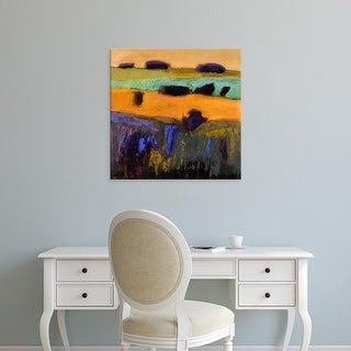 Easy Art Prints Jane Schmidt's 'From What I Imagined' Premium Canvas Art