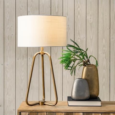 """nuLOOM Captiva 26"""" Metal Table Lamp"""