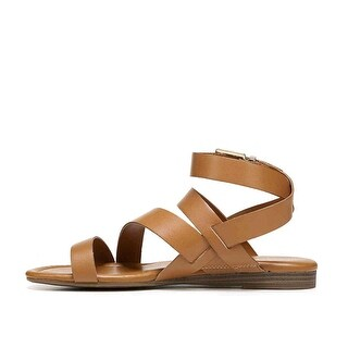 Franco Sarto Womens gauge Open Toe Casual Strappy Sandals