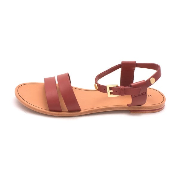Hammitt Womens Chase Leather Open Toe Casual Ankle Strap Sandals