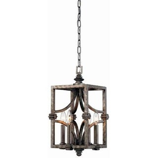 """Savoy House 3-4302-4 Structure 4 Light 9"""" Wide Pendant"""