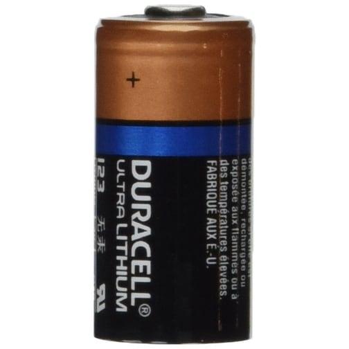 Duracell DL123 Ultra 3 Volt Lithium 123 Battery 12 Pack