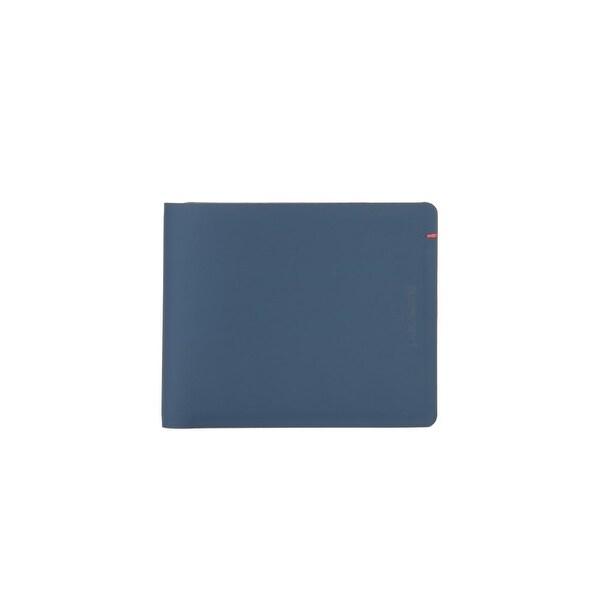 Pacsafe RFIDsafe TEC Bifold Wallet - Navy/Red RFID Blocking Slim Bi-fold Wallet