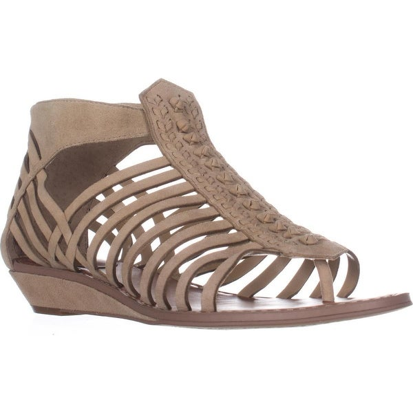 Vince Camuto Seanna Flat Strappy Sandals, Tumbleweed
