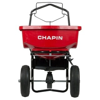 """ChapinA 8200A Residential Turf Spreader w/ 12"""" Pneumatic Tire, 80-Pound Capacity"""