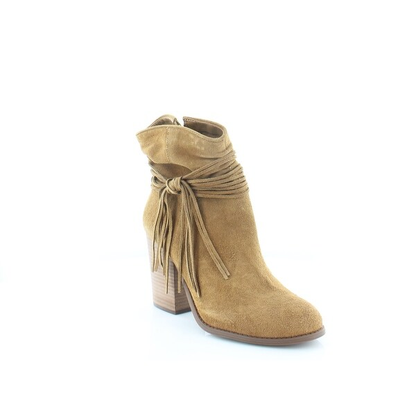 Jessica Simpson Sesley Women's Boots Honey Brown - 8.5