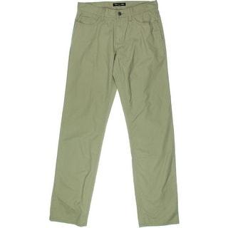 Michael Kors Mens Cotton Flat Front Casual Pants - 30