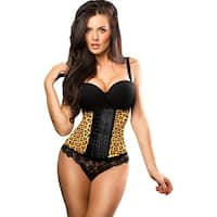 Flakisima Womens Waist Cincher Slimming Animal Print