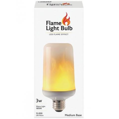 Feit Electric C/FLAME/LED LED Flame Light Bulb, 3 Watts