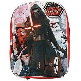 Star Wars Ep7 16-Inch Backpack Plain Front with Kylo Ren