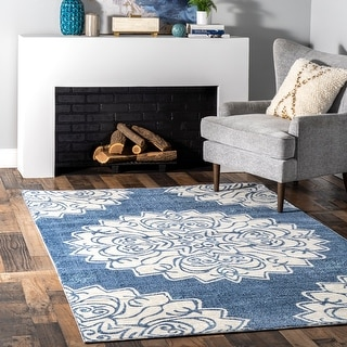 nuLOOM Poppy Blossom Indoor/Outdoor Area Rug