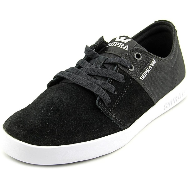 Supra Stacks II Mens Black-White Skateboarding Shoes