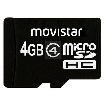 Transcend Movistar microSDHC Memory Card Retail Packing