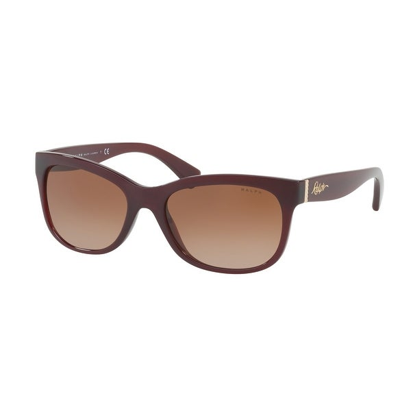 Ralph RA5233 167413 56 Burgundy Woman Rectangle Sunglasses. Opens flyout.