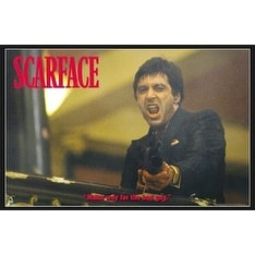 ''Scarface, Make Way for the Bad Guy'' by Anon Movie & TV Posters Art Print (24 x 36 in.)