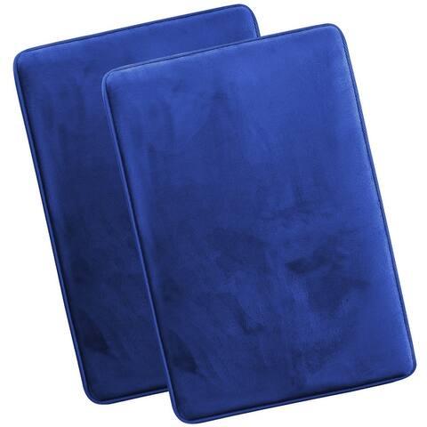 Clara Clark Memory Foam Bathrug 2 Pack Set