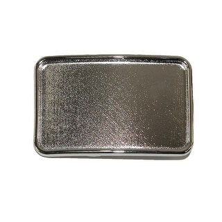 CTM® Blank Large Belt Buckle - One Size