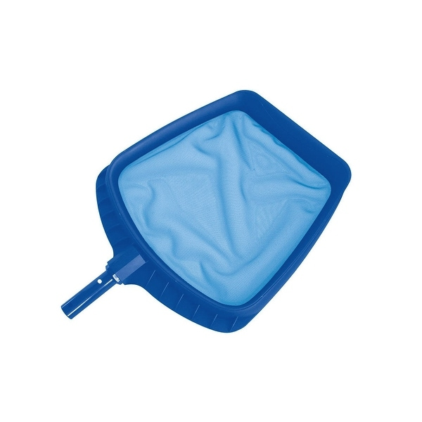 20 5 Heavy Duty Blue Plastic Swimming Pool Leaf Skimmer Head Free Shipping On Orders Over 45