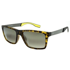 Designer Mens Shades Yellow Band Black Lens New In Style