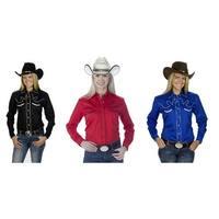 Women's Cotton Retro Western Cowboy Shirt