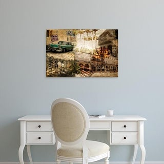 Easy Art Prints GraphINC's 'Cuba' Premium Canvas Art