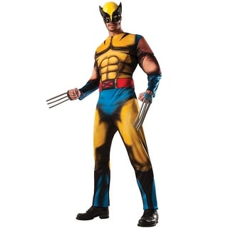Rubies Deluxe Wolverine Adult Costume - YELLOW