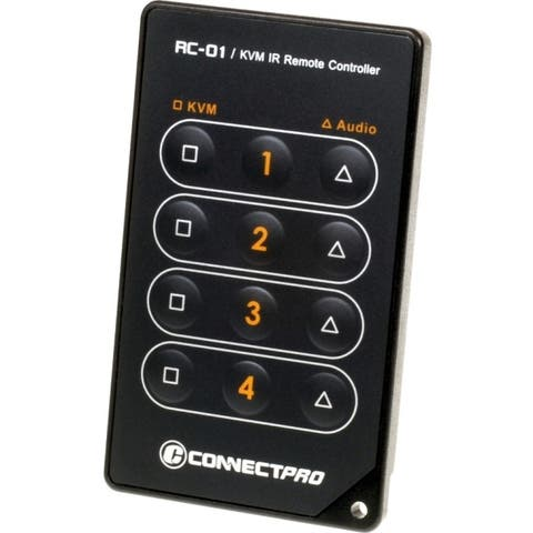 Connectpro rc-01 ir remote for kvm switches 2 &