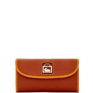Dooney & Bourke Dillen Continental Clutch (Introduced by Dooney & Bourke at $135 in Jun 2016) - Tan