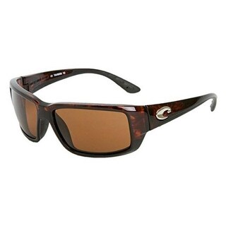 Costa Del Mar Fantail Polarized Tortoise Men Sunglasses TF-10-OCGLP