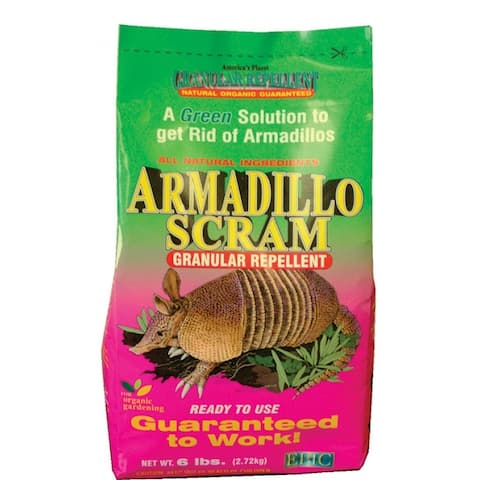 EPIC 17006 Armadillo Scram Granular Repellant, 3600 Sq.ft., 6 Lb