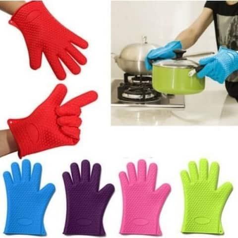 Heat Resistant Silicone Glove(2Pcs)