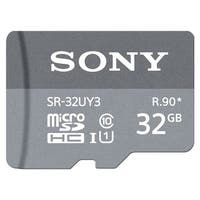 Sony SR-32UY3A/GT High Speed Max R90 micro SD Memory Card (32GB) - grey