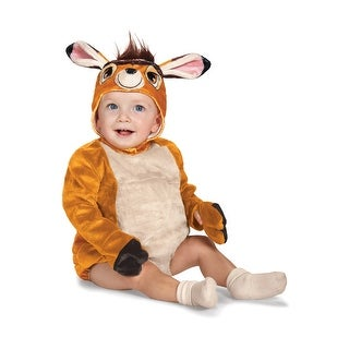 Disguise Bambi Deluxe Infant Costume - Brown - 12-18 Months