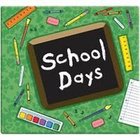 "Green - School Days Album 12""X12"""