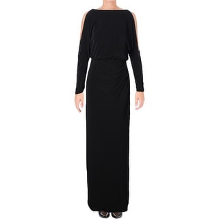 Lauren Ralph Lauren Womens Evening Dress Matte Jersey Long Sleeves (4  options available)