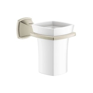 Grohe 40 626 Grandera Ceramic Tumbler with Wall Mount