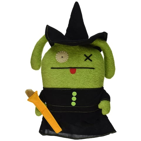 "Ugly Dolls Wizard of Oz 13"" Plush: Ox as Wicked Witch - multi"