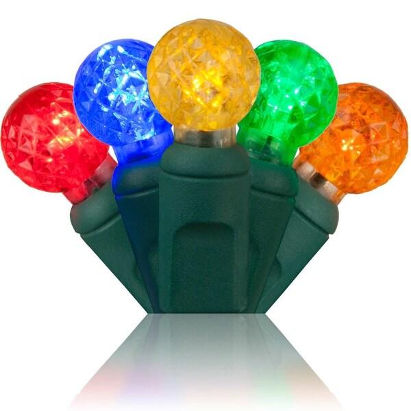 Wintergreen Lighting 20330 70 Bulb G12 Multicolor LED String Lights - Multi Color - N/A