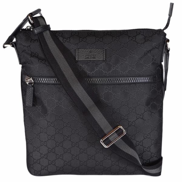 Gucci Black Nylon Handbag dj12mSj1o