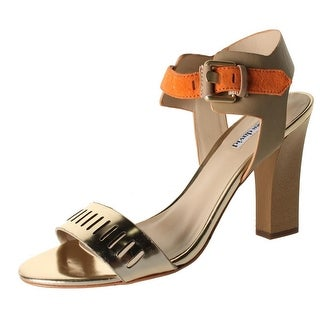 Charles by Charles David Womens Justice Heels Leather Metallic