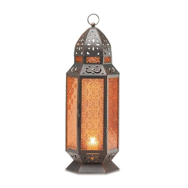Tall Moroccan-style Lantern