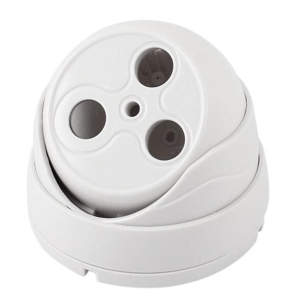 Double LED Wall Mount Monitoring CCTV Camera Dome Enclosure Housing